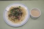サムネイル:和風スパゲティ〜豆乳めんつゆかけ〜